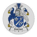 Escudo de la familia del Garner Fichas De Póquer