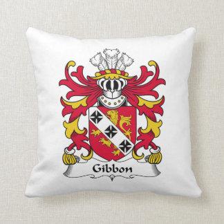 Escudo de la familia del Gibbon Almohada
