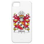 Escudo de la familia del Gibbon iPhone 5 Case-Mate Carcasas