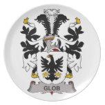 Escudo de la familia del Glob Platos
