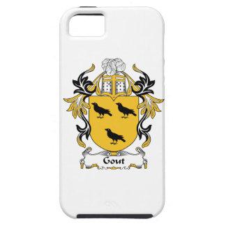 Escudo de la familia del Gout iPhone 5 Case-Mate Funda