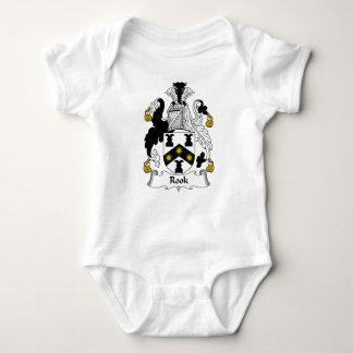 Escudo de la familia del grajo body para bebé