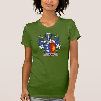 Escudo de la familia del gramo t-shirt