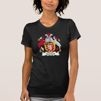 Escudo de la familia del granate camisetas