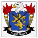 Escudo de la familia del gremio reloj