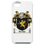 Escudo de la familia del grifo iPhone 5 Case-Mate protector
