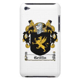 Escudo de la familia del grifo iPod Case-Mate coberturas