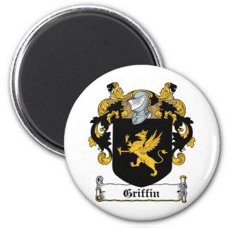 Escudo de la familia del grifo imanes