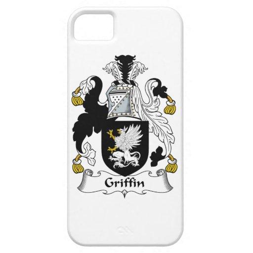 Escudo de la familia del grifo iPhone 5 funda