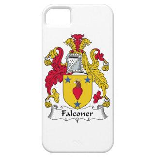 Escudo de la familia del halconero iPhone 5 Case-Mate funda