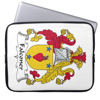 Escudo de la familia del halconero manga computadora