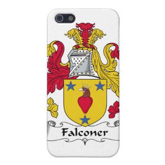 Escudo de la familia del halconero iPhone 5 carcasa
