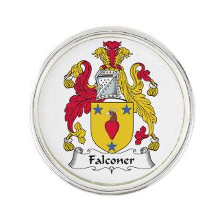 Escudo de la familia del halconero insignia