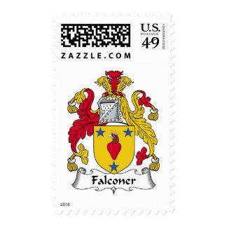 Escudo de la familia del halconero sello