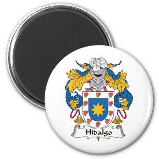 Escudo de la familia del Hidalgo Imán Redondo 5 Cm