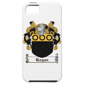 Escudo de la familia del Hogan iPhone 5 Case-Mate Protector