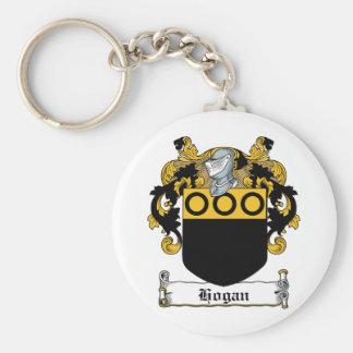 Escudo de la familia del Hogan Llaveros Personalizados