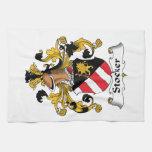 Escudo de la familia del hogar mecánico toalla