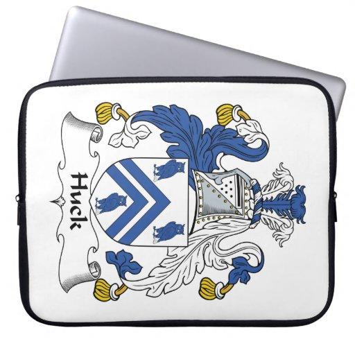 Escudo de la familia del Huck Funda Ordendadores