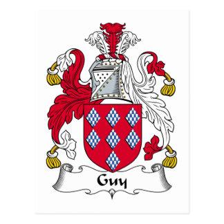 Escudo de la familia del individuo postal