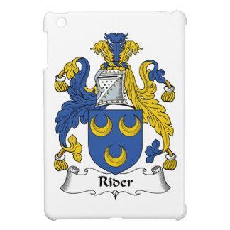 Escudo de la familia del jinete iPad mini cárcasa