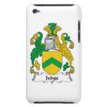 Escudo de la familia del juez Case-Mate iPod touch protector