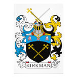 Escudo de la familia del Kirkman Invitaciones Personalizada