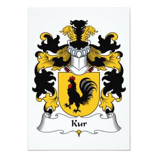 """Escudo de la familia del Kur Invitación 5"""" X 7"""""""