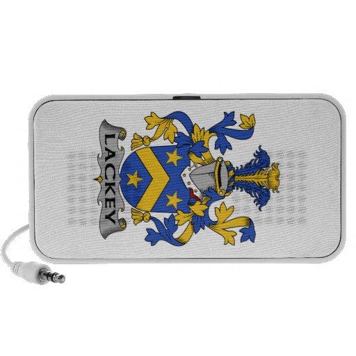 Escudo de la familia del lacayo iPod altavoz