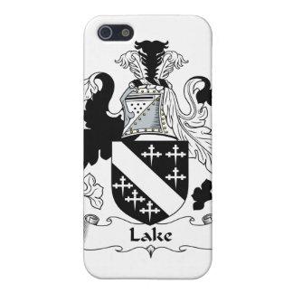 Escudo de la familia del lago iPhone 5 carcasa