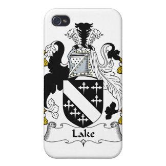Escudo de la familia del lago iPhone 4/4S carcasa