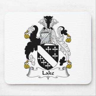 Escudo de la familia del lago mouse pad