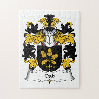 Escudo de la familia del lenguado rompecabeza con fotos