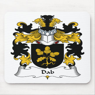 Escudo de la familia del lenguado tapete de ratones