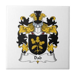 Escudo de la familia del lenguado teja cerámica