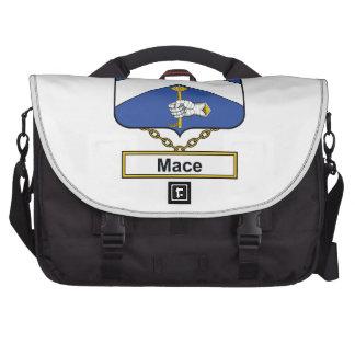 Escudo de la familia del macis bolsas de portátil