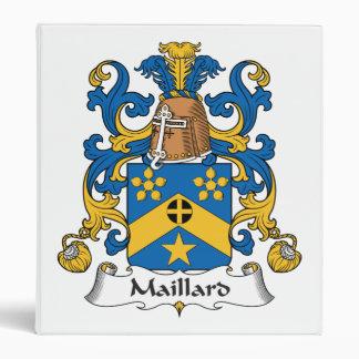 Escudo de la familia del Maillard