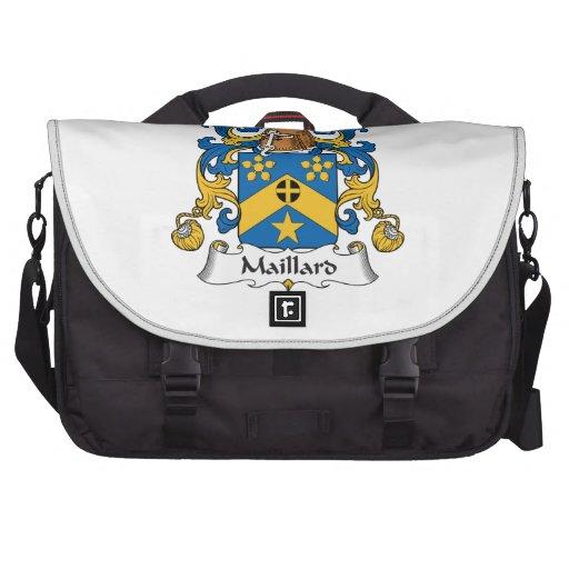 Escudo de la familia del Maillard Bolsas Para Portatil