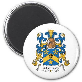 Escudo de la familia del Maillard Imán Redondo 5 Cm