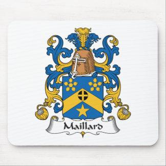 Escudo de la familia del Maillard Tapetes De Ratón