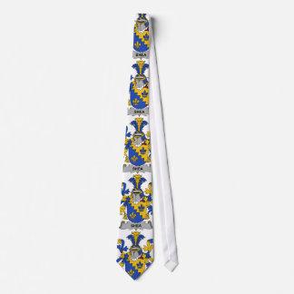 Escudo de la familia del mandingo corbata personalizada