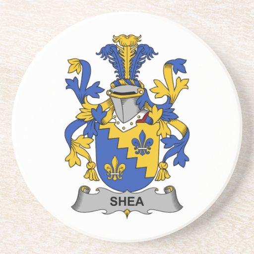 Escudo de la familia del mandingo posavasos personalizados