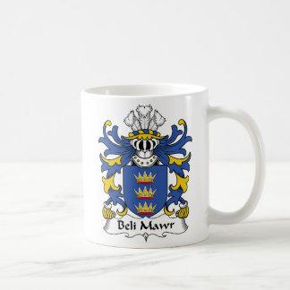 Escudo de la familia del Mawr de Beli Taza De Café