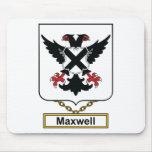 Escudo de la familia del maxwell alfombrilla de ratones