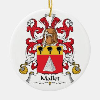 Escudo de la familia del mazo ornamentos para reyes magos