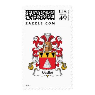 Escudo de la familia del mazo sellos