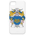 Escudo de la familia del Melia iPhone 5 Cárcasa
