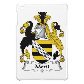 Escudo de la familia del mérito iPad mini funda