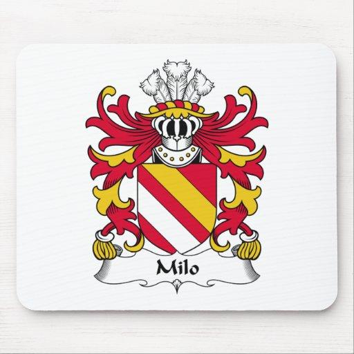 Escudo de la familia del Milo Tapete De Raton