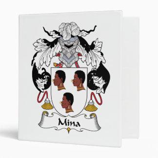 Escudo de la familia del Mina